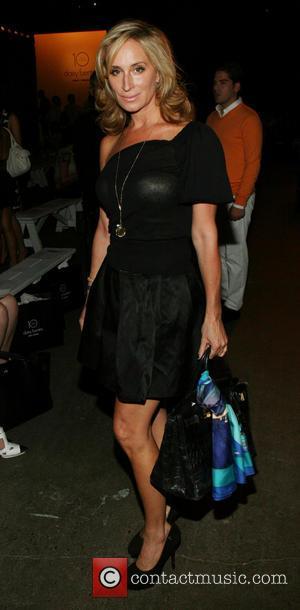 Sonja Morgan - Mercedes-Benz Fashion Week Spring 2014 - Daisy Fuentes - Front Row at Eyebeam - New York, NY,...
