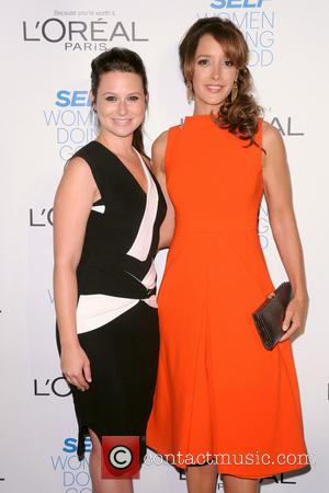 Katie Lowes and Jennifer Beals