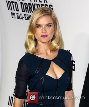 Alice Eve - Celebrities attend STAR TREK INTO DARKNESS Blu-ray and DVD debut at California Science Center. - Los Angeles,...