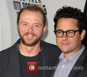 Simon Pegg and J.J. Abrams