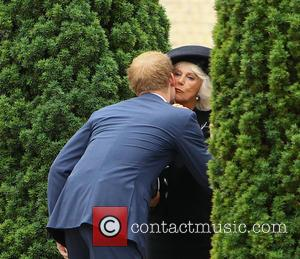 Prince Harry and Camilla Duchess Of Cornwall
