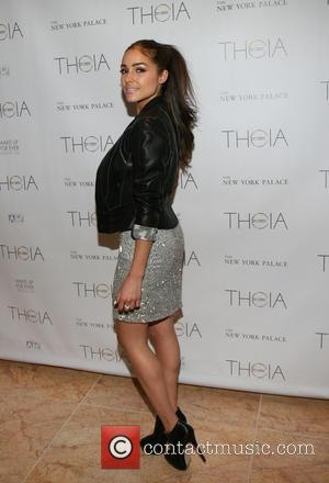 Olivia Culpo - Mercedes-Benz Fashion Week Spring 2014 - Theia - Presentation - New York, NY, United States - Wednesday...