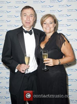 Julian Waters and Clare Tomlinson - Charity evening in aid of 'Cure for Dylan' held at Stamford Bridge - London,...
