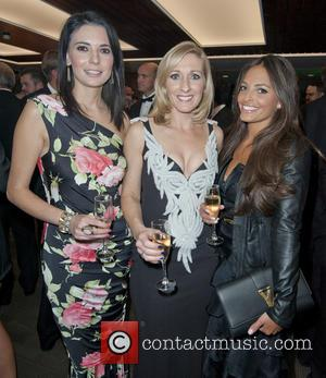 Natalie Sawyer, Vicky Gomersall and Olivia Godfrey - Charity evening in aid of 'Cure for Dylan' held at Stamford Bridge...