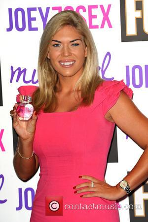Frankie Essex - Joey Essex launches two new fragrances Fusey and My Girl at the Sanctum hotel, Soho - London,...