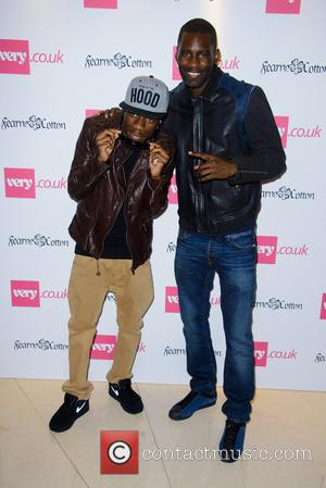 Tinchy Stryder and Wretch 32 - Fearne Cotton launches her SS14 Fashion Collection for Very.co.uk as part of London Fashion...