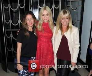 Leah Wood, Fearne Cotton and Jo Wood