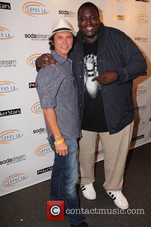 Lou Diamond Phillips and Quinton Aaron