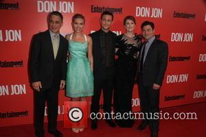 The Cast of Don Jon, Tony Danza, Scarlett Johansson, Joseph Gordon-Levitt, Julianne Moore and Jeremy Luc