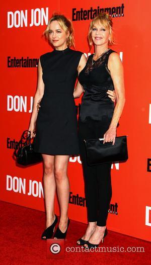 Dakota Johnson and Melanie Griffith