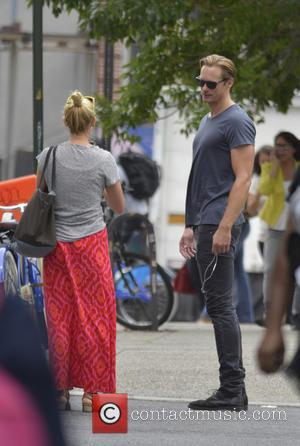 Alexander Skarsgard - Alexander Skarsgard out and about in Soho - New York City, New York, United States - Friday...