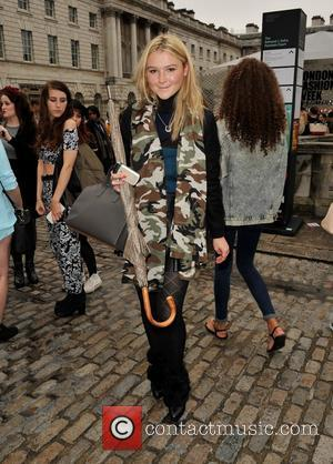 Amber Atherton - Daks catwalk show London Fashion Week Spring Summer 2014 - London, United Kingdom - Friday 13th September...