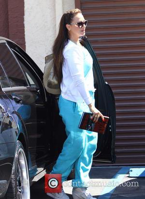 Leah Remini - Celebrities arrive at the 'Dancing With The Stars' rehearsal studio in Hollywood - Los Angeles, CA, United...