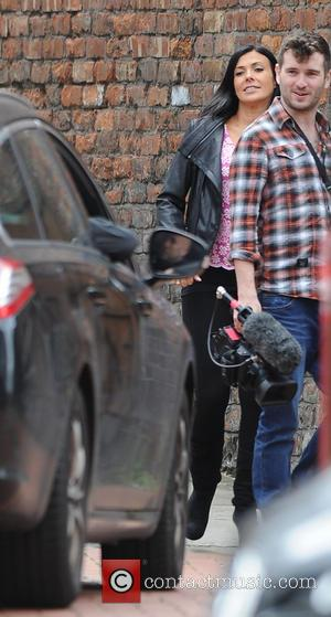 Kym Marsh - 'Coronation Street' star Kym Marsh seen leaving the Granada studios - Manchester, United Kingdom - Friday 13th...