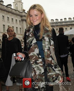 Amber Atherton - London Fashion Week SS14 - Celebrity Sighting -Outside arrivals - London, United Kingdom - Friday 13th September...