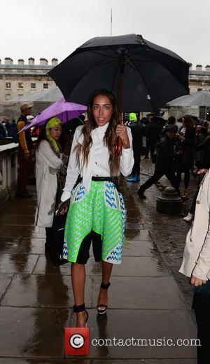 Delilah - London Fashion Week Spring/Summer 2014 - Jean Pierre Braganza - Arrivals - London, United Kingdom - Friday 13th...
