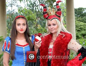 Jennifer Ellison and Kate Stewart - Snow White pantomime photocall at Frosts Garden Centre - Woburn Sands, Milton Keynes, United...