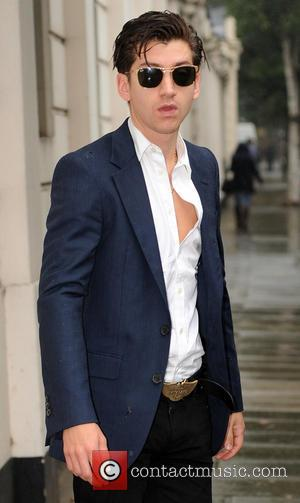 Alex Turner - Alex Turner of The Arctic Monkeys pictured arriving at the BBC live lounge - London, United Kingdom...