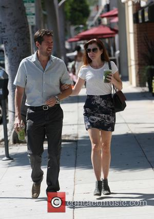 alyson Hannigan - Alyson Hannigan spotted out in Beverly Hills with partner, Alexis - Los Angeles, CA, United States -...