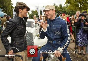 Sir Chris Hoy - Sir Chris today at the Goodwood Revival. He was riding a '60s bike as part of...