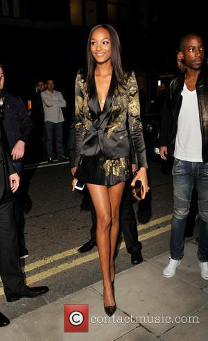 Jourdan Dunn - W Magazine Dinner to celebrate the September Issue cover - Arrivals - London, United Kingdom - Saturday...