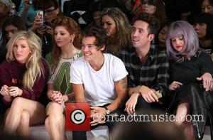 Ellie Goulding, Nicola Roberts, Harry Styles, Nick Grimshaw and Kelly Osbourne