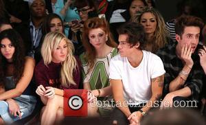 Ellie Goulding, Nicola Roberts, Harry Styles and Nick Grimshaw