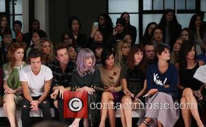 Nicola Roberts, Harry Styles, Nick Grimshaw, Kelly Osbourne, Leigh Lezark, Alexa Chung, Pixie Geldof and Daisy Lowe