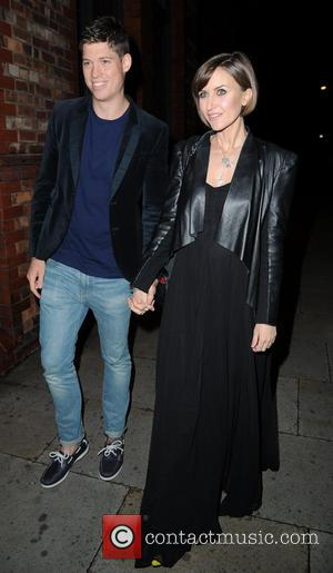 Katherine Kelly and Husband Ryan - Celebrities arrives for Catherine Tyldesleys 30th Birthday Party - Manchester, United Kingdom - Saturday...
