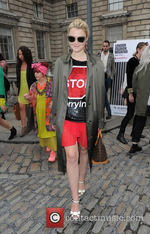 Amber Atherton - London Fashion Week Spring/Summer 2014 - Ashish - Arrivals - London, United Kingdom - Saturday 14th September...