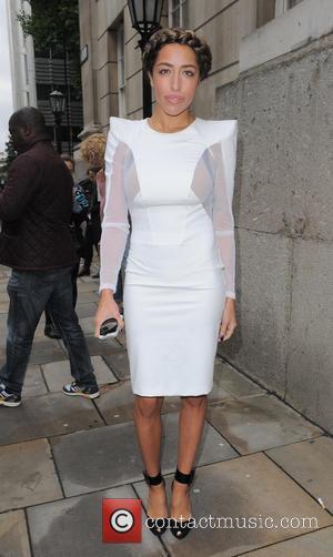 Delilah - London Fashion Week Spring/Summer 2014 - Julien Macdonald - Arrivals - London, United Kingdom - Saturday 14th September...