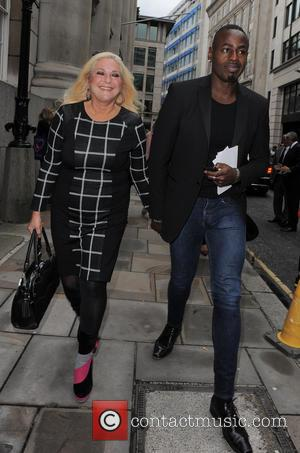 Vanessa Feltz - London Fashion Week Spring/Summer 2014 - Julien Macdonald - Arrivals - London, United Kingdom - Saturday 14th...