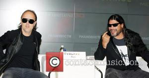 Lars Ulrich and Robert Trujillo