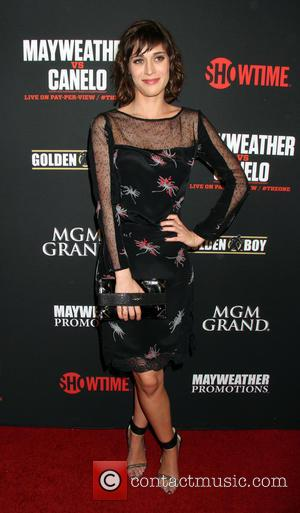 Lizzy Caplan - Pre-fight party for Showtime's 'Mayweather vs Canelo' boxing match at MGM Grand Garden Arena Inside MGM Grand...