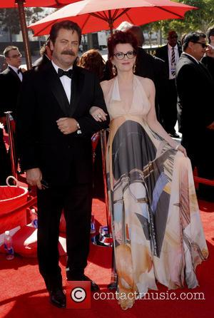 Megan Mullally - 2013 Primetime Creative Arts Emmy Awards - Arrivals - Los Angeles, CA, United States - Sunday 15th...