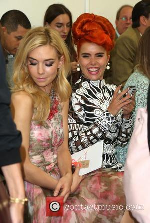 Vanessa Kirby and Paloma Faith - London Fashion Week SS14  - Matthew Williamson - Catwalk - London, United Kingdom...