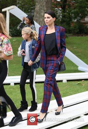 Sadie Frost and daughter Iris Law - London Fashion Week SS14  - Topshop Unique - Arrivals - London, United...