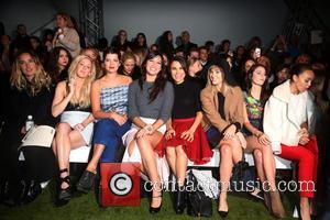 Ellie Goulding, Pixie Geldof, Daisy Lowe, Samantha Barks, Suki Waterhouse and Kaya Scodelario