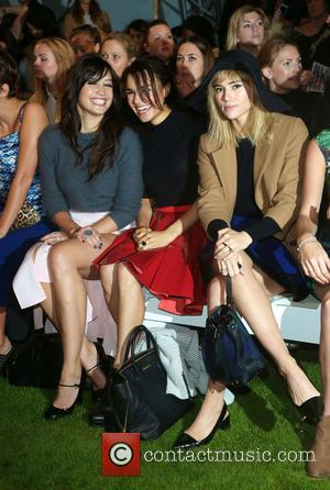 Daisy Lowe, Samantha Barks and Suki Waterhouse