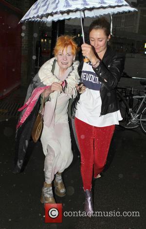 Dame Vivienne Westwood - LFW - Celebrity Sighting -Vivienne Westwood show - London, United Kingdom - Sunday 15th September 2013