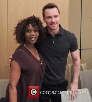 Alfre Woodard and Michael Fassbender