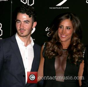 Kevin Jonas and Danielle Jonas - Nick Jonas celebrates his 21st Birthday at XS Nightclub inside Wynn Las Vegas -...
