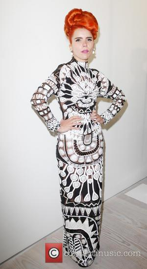 Paloma Faith - London Fashion Week SS14  - Matthew Williamson - Fashion show - London, United Kingdom - Sunday...