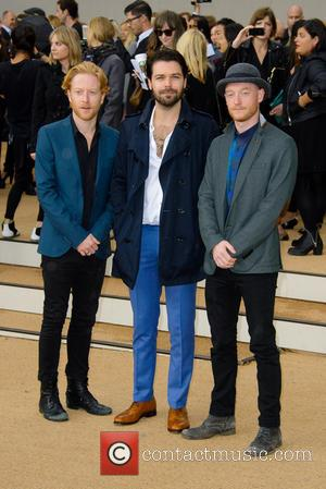 Biffy Clyro - London Fashion Week SS14 - Burberry Prorsum held at Kensington Gardens - Arrivals - London, United Kingdom...