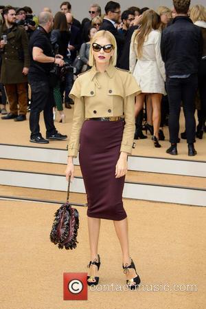 Leigh Lezark - London Fashion Week SS14 - Burberry Prorsum held at Kensington Gardens - Arrivals - London, United Kingdom...