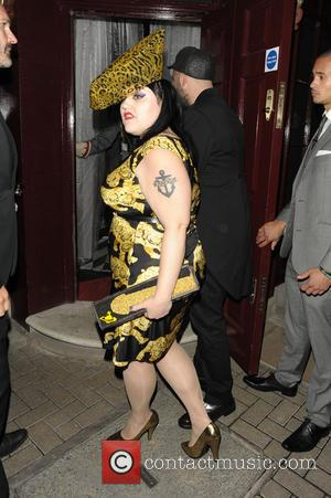 Beth Ditto - Celebrities at Loulou's private members club in Mayfair - London, United Kingdom - Monday 16th September 2013