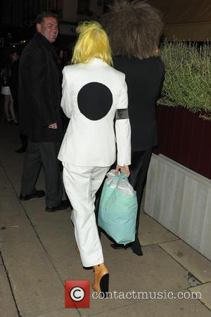 Pam Hogg - Celebrities at Loulou's private members club in Mayfair - London, United Kingdom - Monday 16th September 2013
