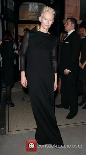 Tilda Swinton - Celebrities at the Pringle Flagship Store Opening in Mayfair - London, United Kingdom - Monday 16th September...
