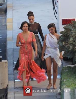 Leah Remini, Cheryl Burke and Karina Smirnoff