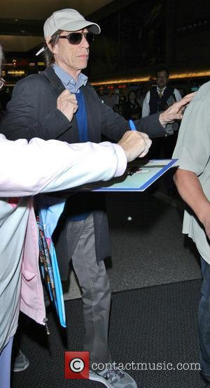 Mick Jagger - Celebrities at LAX (Los Angeles International) airport - Los Angeles, California, United States - Monday 16th September...